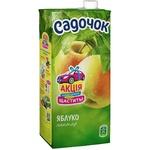 Нектар Садочок Яблочный неосветлённый Slim 0.95л