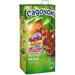 Sadochok Apple-cherry Nectar 0,95l - buy, prices for CityMarket - photo 1
