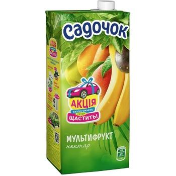 Нектар Садочок мультифруктовый 0,95л