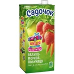 Sadochok Apple-carrot-strawberry Juice with Pulp 0,95l
