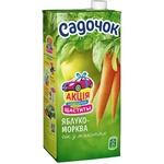 Сок Садочок яблочно-морковный 0,95л