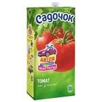 Сік Садочок томатний з сіллю 1,93л
