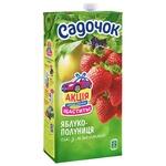 Sadochok Apple-strawberry Juice 1,93l