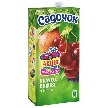 Sadochok Apple-cherry Nectar 1,93l - buy, prices for Auchan - photo 1