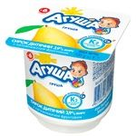 Agusha Pear Flavored Cottage Cheese for Babies from 6 Months 3,9% 100g