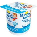 Сир кисломолочний Агуша класичний для дітей з 6 місяців 4,5% 100г