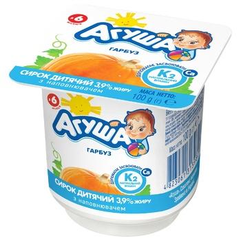 Agusha pumpkin cheese for children from 6 months 3.9% 100g