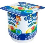 Agusha Zasinaiko For Children From 8 Month Strawberries-Banana-Melissa Cottage Cheese 3.9% 100g
