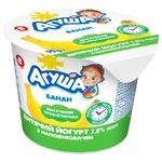 Йогурт дитячий Агуша банан 2,8% 90г