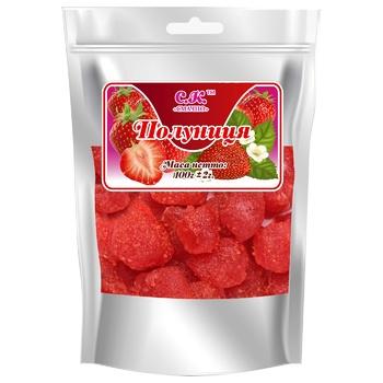 Dried fruits strawberry Smachno dried 100g Ukraine - buy, prices for CityMarket - photo 1