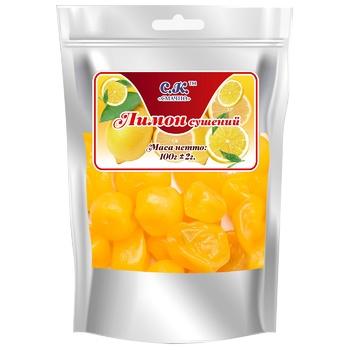 Лимон Смачно сушений 100г - купить, цены на СитиМаркет - фото 1