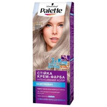 Крем-краска Palette Интенсивный цвет 12-21 Холодный платиновый блонд