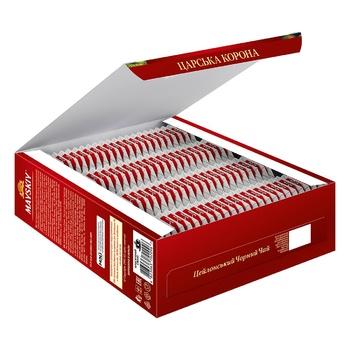 Чай черный Майский Царская Корона в пакетиках 100шт*2г - купить, цены на Ашан - фото 4