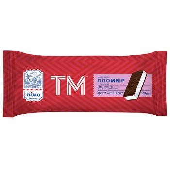 Мороженое Лимо ТМ пломбир с печеньем 100г