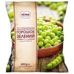 Горошок зелений Лімо заморожений 400г - купити, ціни на Ашан - фото 1