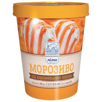 Limo caramel Ice cream bucket 500g - buy, prices for CityMarket - photo 1