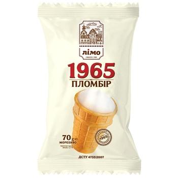 Мороженое Лимо Пломбир 1965 70г