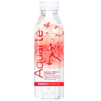 Напиток негазированный Aquarte Энергия гибискус, гуарана, гранат 0,5л