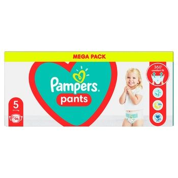 Pampers Pants Size 5 Diapers (12-17kg) 96pcs - buy, prices for Metro - photo 4