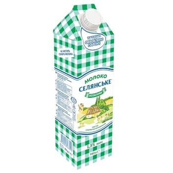 Selianske Special Ultrapasteurized Milk 1,5% 950g