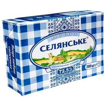 Selyanske Sweet Cream Butter 72,5% 200g