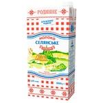 Молоко Селянське Родинне ультрапастеризоване 3,2% 2кг