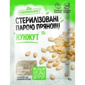 Кунжут Pripravka 20г - купить, цены на СитиМаркет - фото 1