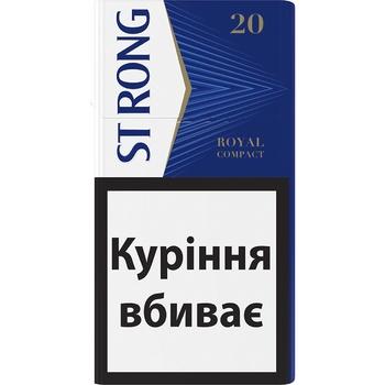 Сигарили Strong Royal Compact - купити, ціни на ЕКО Маркет - фото 1
