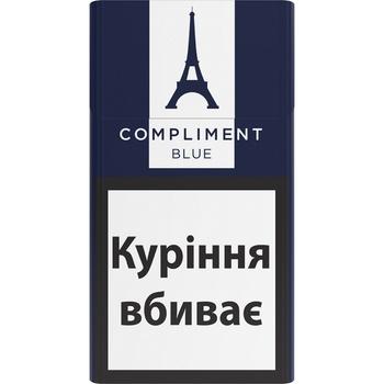 Цигарки Compliment demi blue slim - купити, ціни на ЕКО Маркет - фото 1