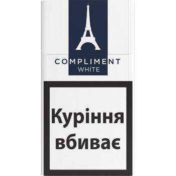 Цигарки Compliment demi white slims
