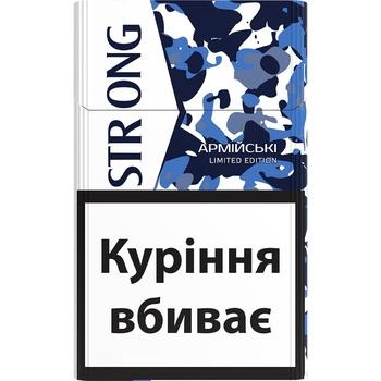 Сигариллы Strong Армейские - купить, цены на Ашан - фото 2