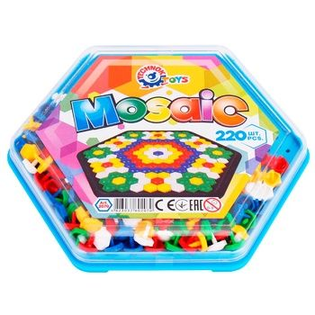 Іграшка мозаїка ТехноК Кольоровий світ