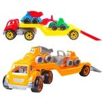 Technok Truck with Construction Site Toy