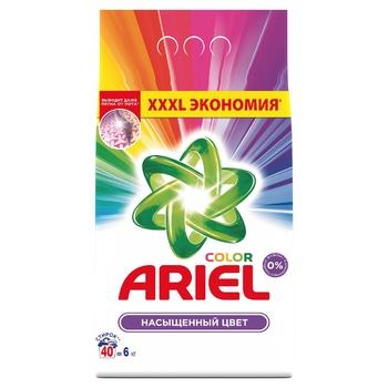 Стиральный порошок Ariel Color автомат 6кг - купить, цены на СитиМаркет - фото 1