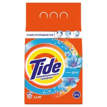 Стиральный порошок Tide Lenor Touch of Scent автомат 2,4кг