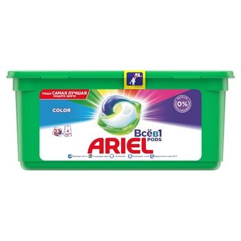 Капсули для прання Ariel Все-в-1 Color 27шт - купити, ціни на CітіМаркет - фото 1