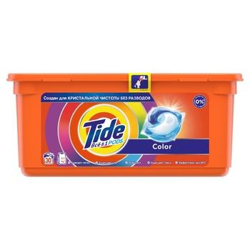 Капсулы для стирки Tide Pods 3in1 Color 30шт 24,8г