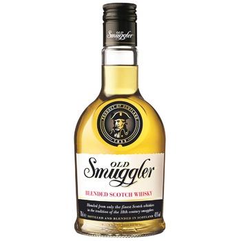 Віскі Old Smuggler 3 роки 40% 0.7л - купити, ціни на CітіМаркет - фото 1