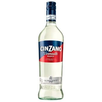 Вермут Cinzano Bianko 15% 0,75л
