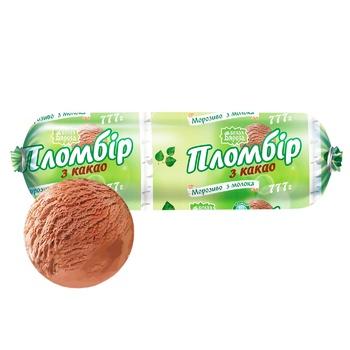 Belaya Byaroza Plombir Ice Cream with Cocoa 777g