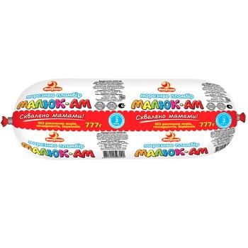 Мороженое Ласунка Пломбир Малюк-Ам 777г