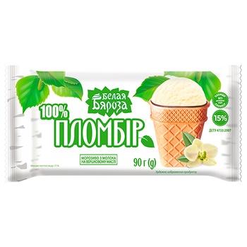 Belaia Biarioza Sundae Ice Cream with Confectionery Glaze 90g