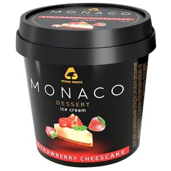 Three Bears Monaco Dessert Strawberry Cheesecake Ice-Cream 70g - buy, prices for CityMarket - photo 2