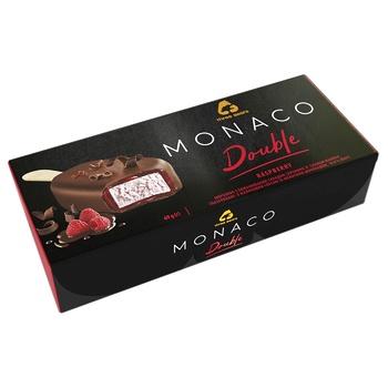 Three Bears Monaco Double Raspberry On Stick In Chocolate Glaze Ice-Cream 69g - buy, prices for CityMarket - photo 1
