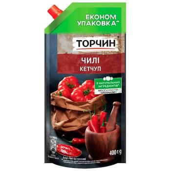 Кетчуп ТОРЧИН® Чилі 400г - купити, ціни на Метро - фото 1