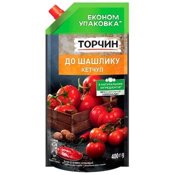 Кетчуп ТОРЧИН® к Шашлыку 400г - купить, цены на ЕКО Маркет - фото 1