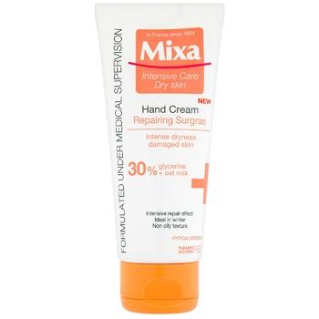 Крем для рук Mixa Восстанавливающий для сухой поврежденной кожи рук 100мл - купить, цены на Метро - фото 1
