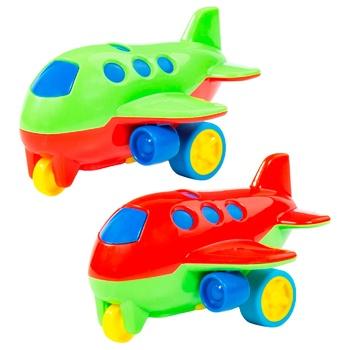 Игрушка Полесье Самолетик с инерционным механизмом