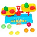Набор игровой Полесье Весы с набором продуктов 12элементов