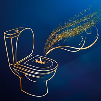 Блок туалетний Bref Делюкс Moonflower 2*50г - купити, ціни на Novus - фото 8